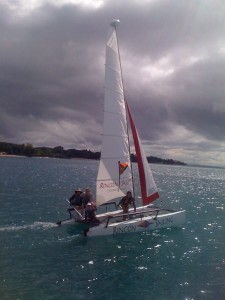 Hobie Getaway Sailing the Western Coast of Puerto Rico